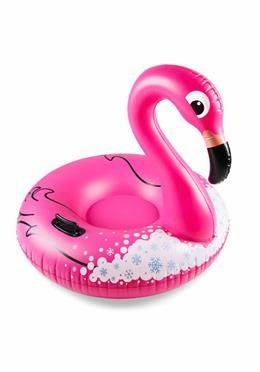 Schlitten-Big Snow Tube Flamingo
