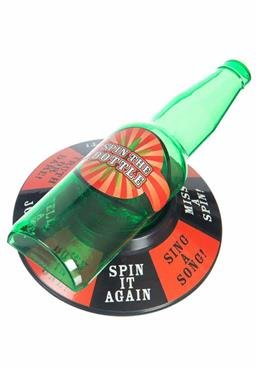 Trinkspiel Flaschendrehen - Spin the Bottle