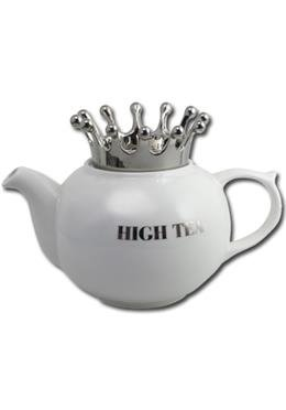 Teekanne - Kaffeekanne High Tea - Silver King