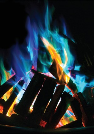 Mystical Fire - Bringe Farbe ins Feuer