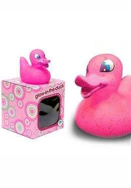 Badeente glow-in-the-duck pink