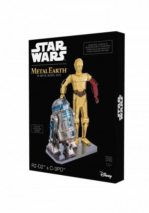 Star Wars - Metal Earth - R2-D2 & C-3PO