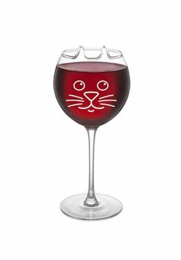 Weinglas - Kätzchen - purrfect wine glass