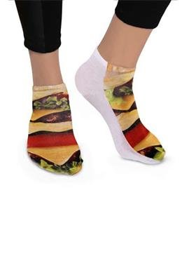Motivsocken - Burger