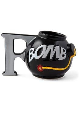 The F-Bomb Kaffee Becher