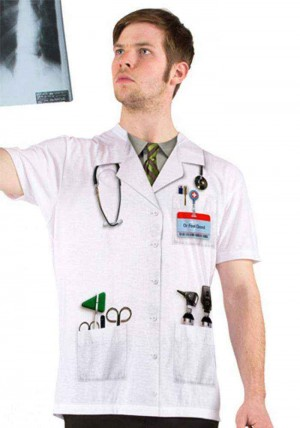 Faux Real - Doctor Feel Good T-shirt-L