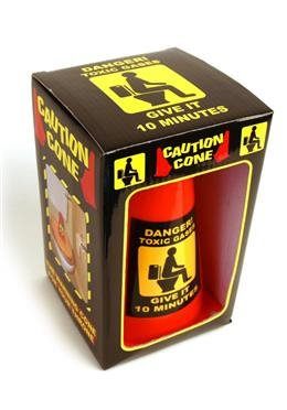 Giftgas Toilettenkegel - Caution Cone - Toxic Gas