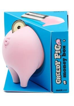 Greedy Pig Money Box - Halbes Schwein Spardose