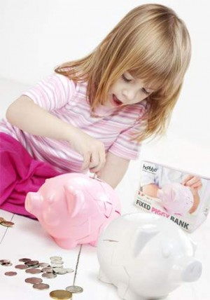Repariertes Sparschwein - Fixed Piggy Bank