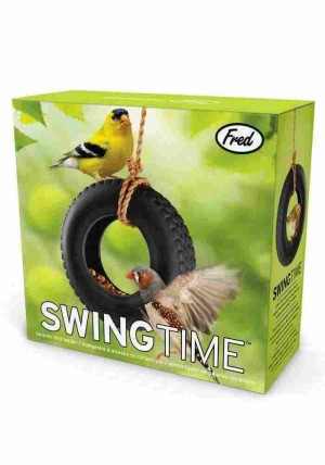 Swing Time Bird Feeder - Autoreifen - Vogelhaus