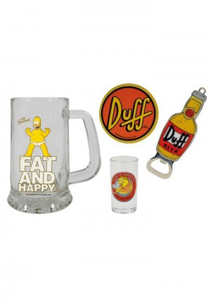 The Simpsons - Geschenkset - Duff Beer