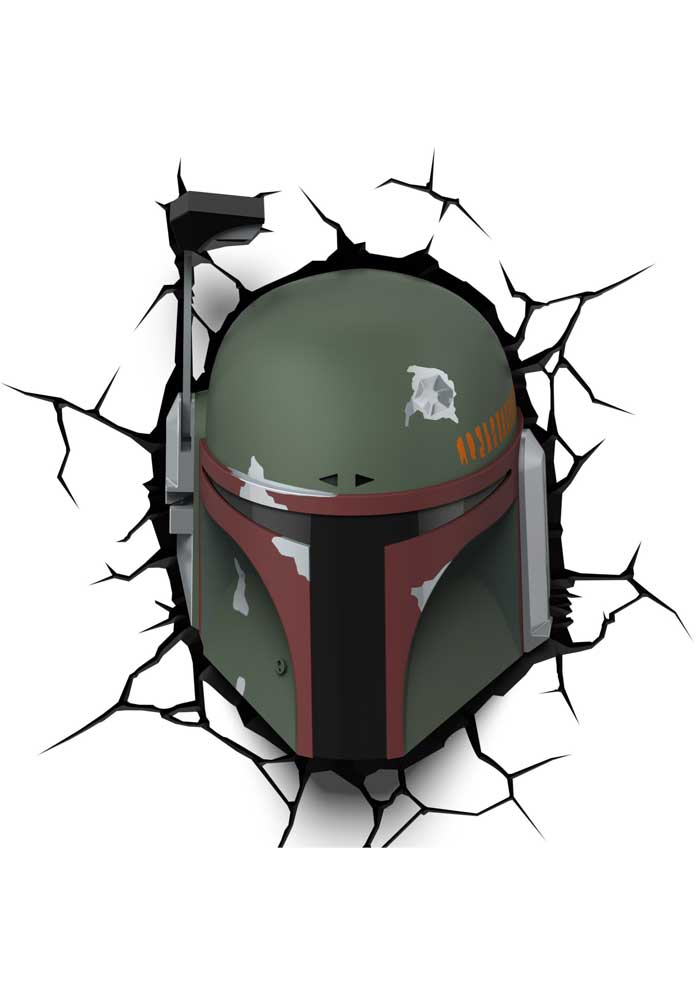 Star Wars - 3D Leuchte Boba Fett