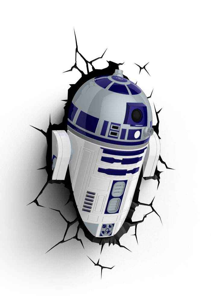 Star Wars - 3D Leuchte R2-D2