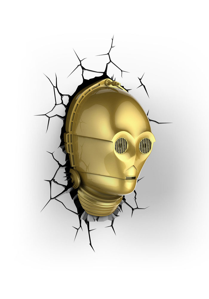 Star Wars - 3D Leuchte C-3PO