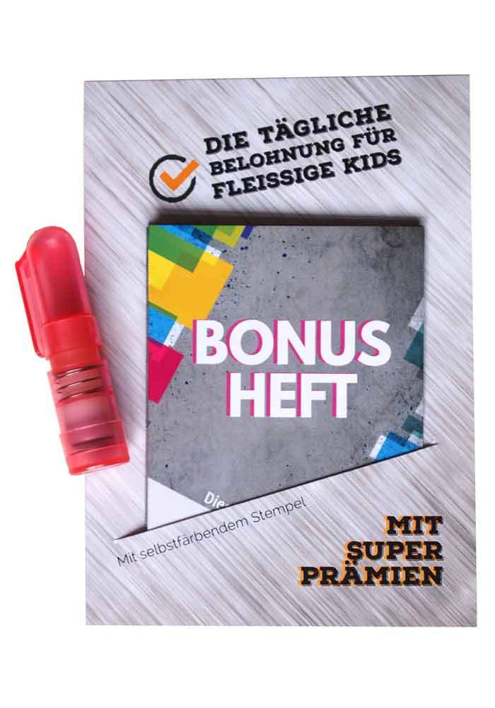 Bonusheft für Kids