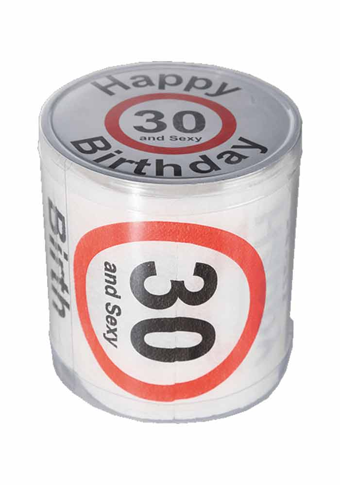 Toilettenpapier - Happy Birthday 30 and sexy
