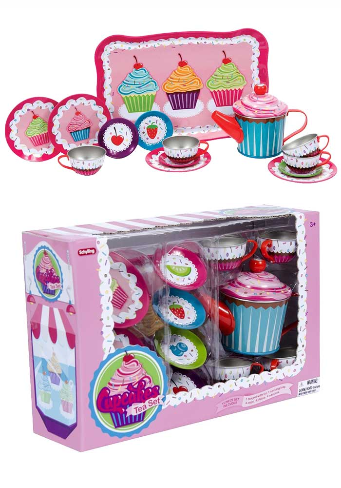 Cupcakes Tea Set für Kinder