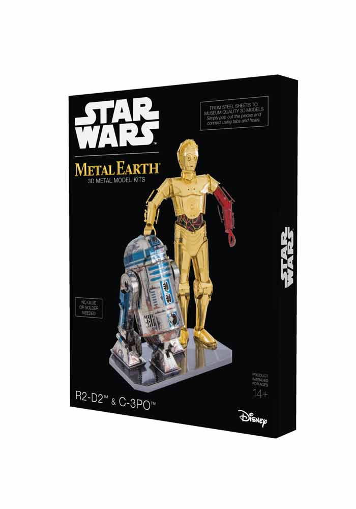 Star Wars Metal Earth - R2-D2 & C-3PO