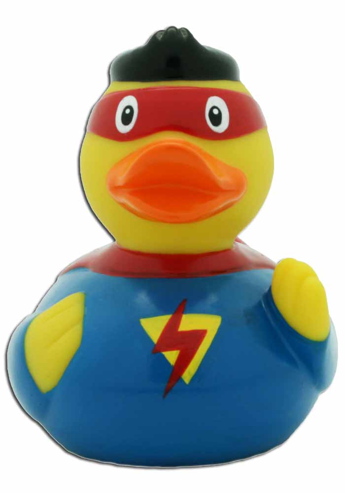 Badeente Superman
