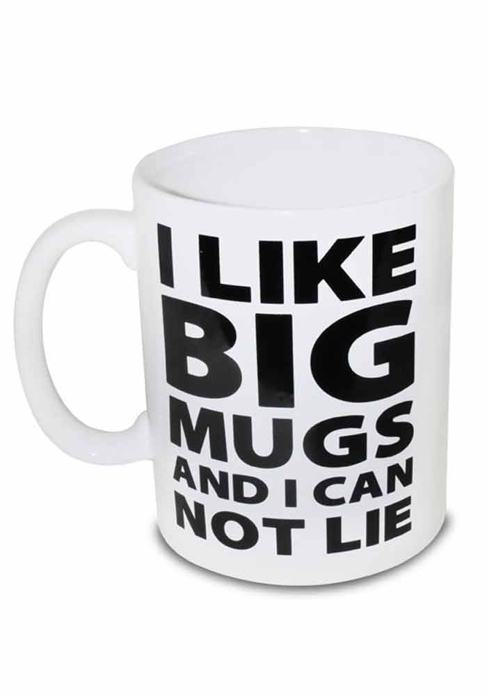 Gigantischer Kaffeebecher - I like big mugs