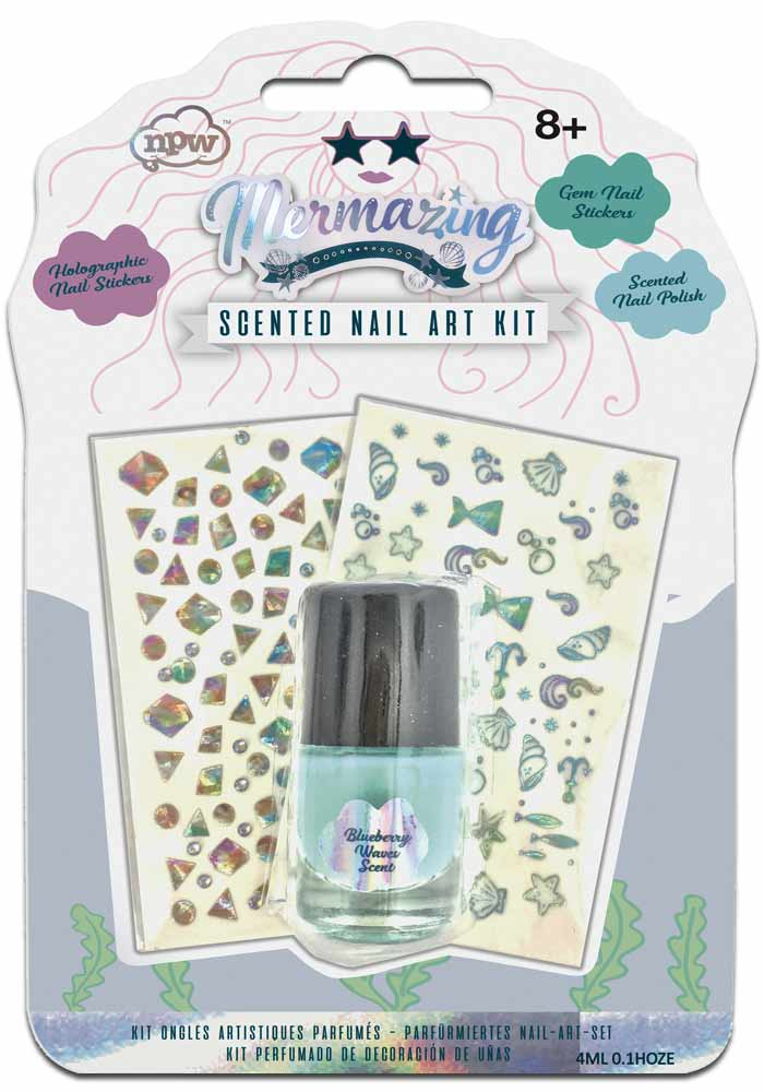 Meerjungfrau - Mermaid  Duft Nagellack Set