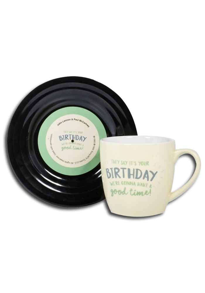 Tassen-Set - Lyric Mug - Birthday