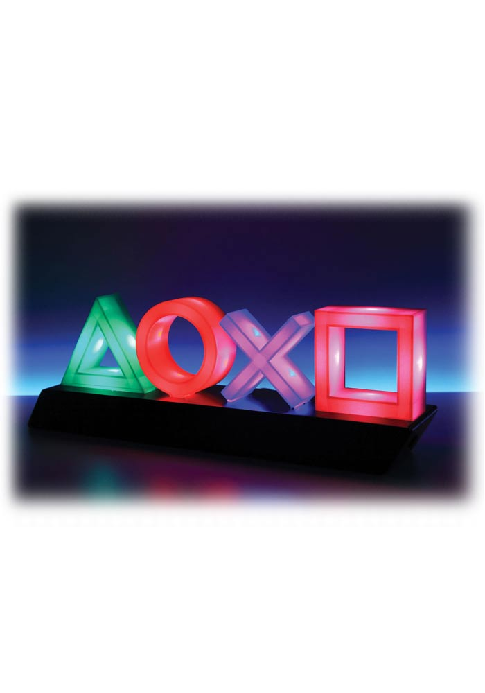Original PlayStation Deko Leuchte - Logo Icons