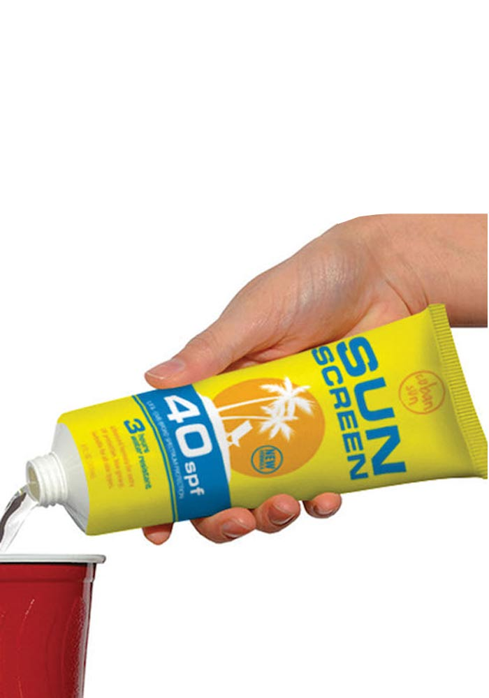 Cuban Sun Screen - Fake Sonnencreme Tube