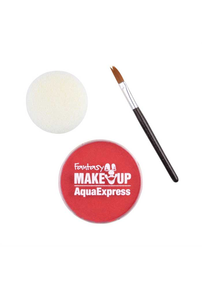 Schminke - Fantasy Make Up-Aqua Express - Rot