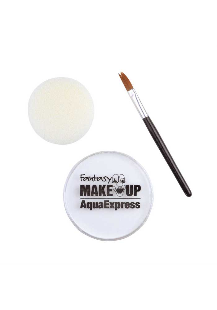 Schminke - Fantasy Make Up-Aqua Express - Weiß