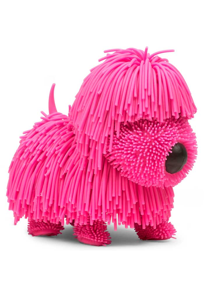 Noodles The Wobbly Dog - pink