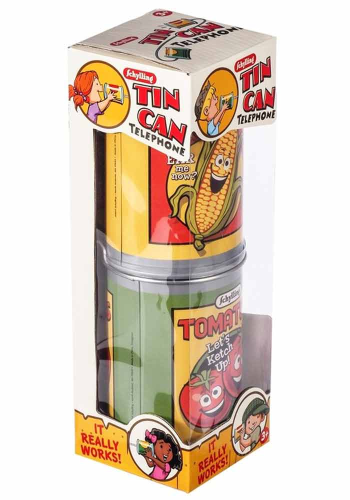 Dosen Telefon - Tin Can Telephone