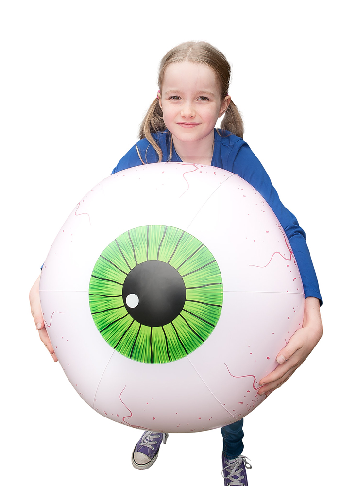 Aufblasbarer Beach Ball - Giant Eyeball