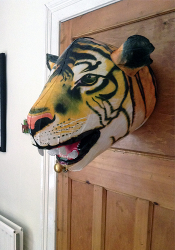 Aufblasbarer Tiger Kopf - Inflatable Tiger Head
