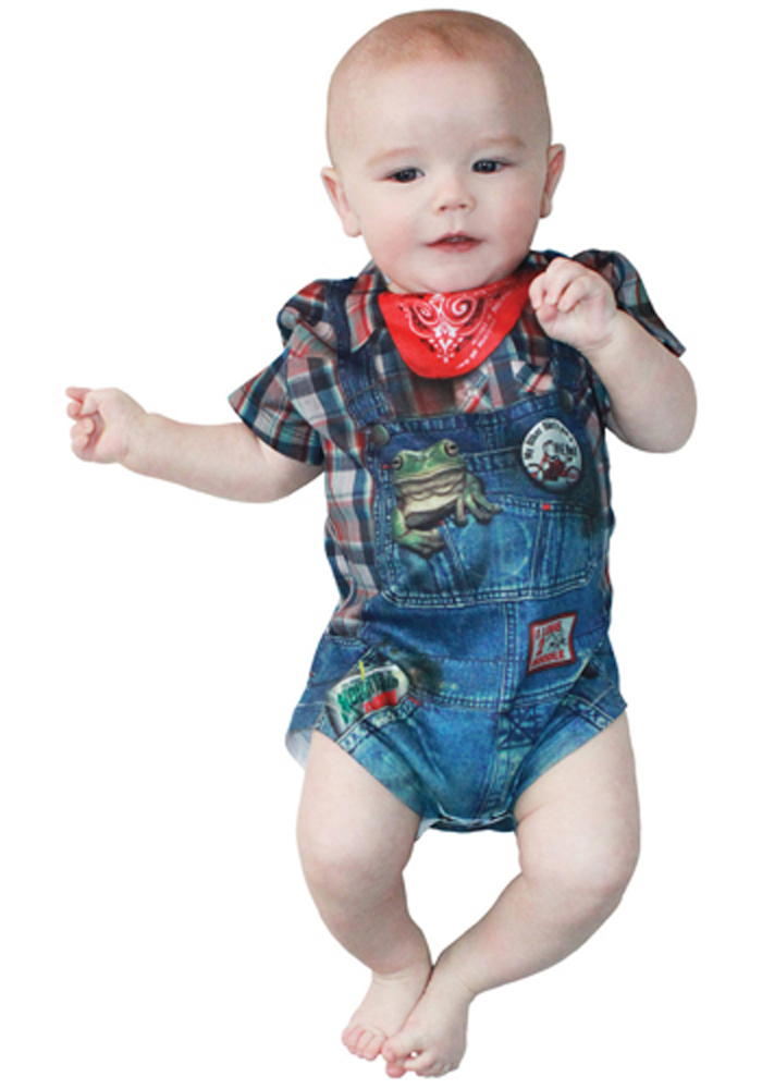 Faux Real - Boys Hillbilly Body-M