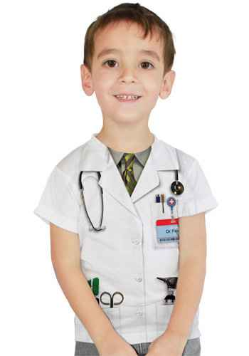 Faux Real - Doctor T-shirt-L