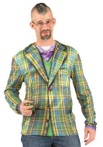 Faux Real - Plaid Sport Coat Longsleeve-L
