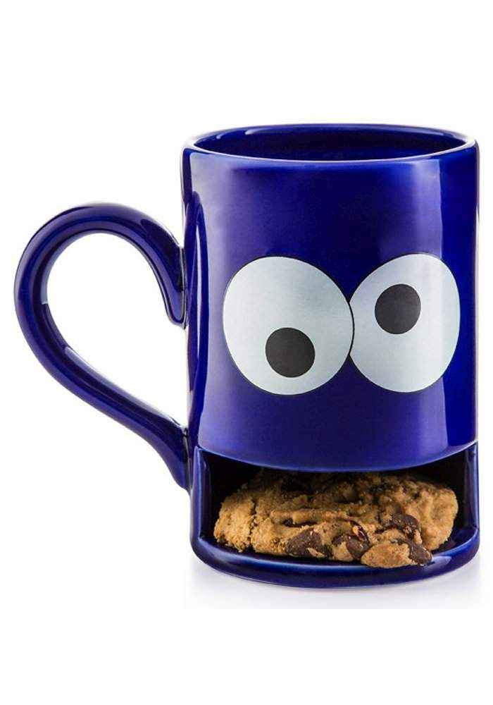 Keks-Becher - Mug Monster blau
