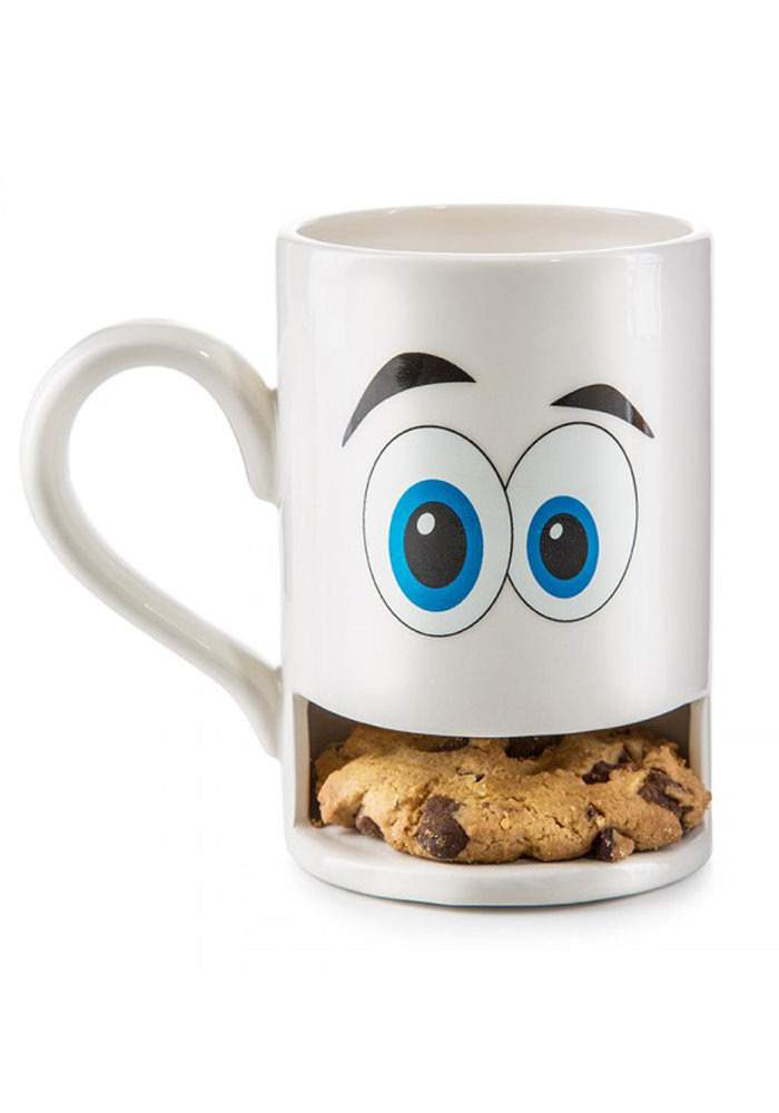Keks-Becher - Mug Monster weiß