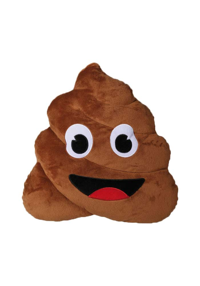 Kissen - Emoji - Poo