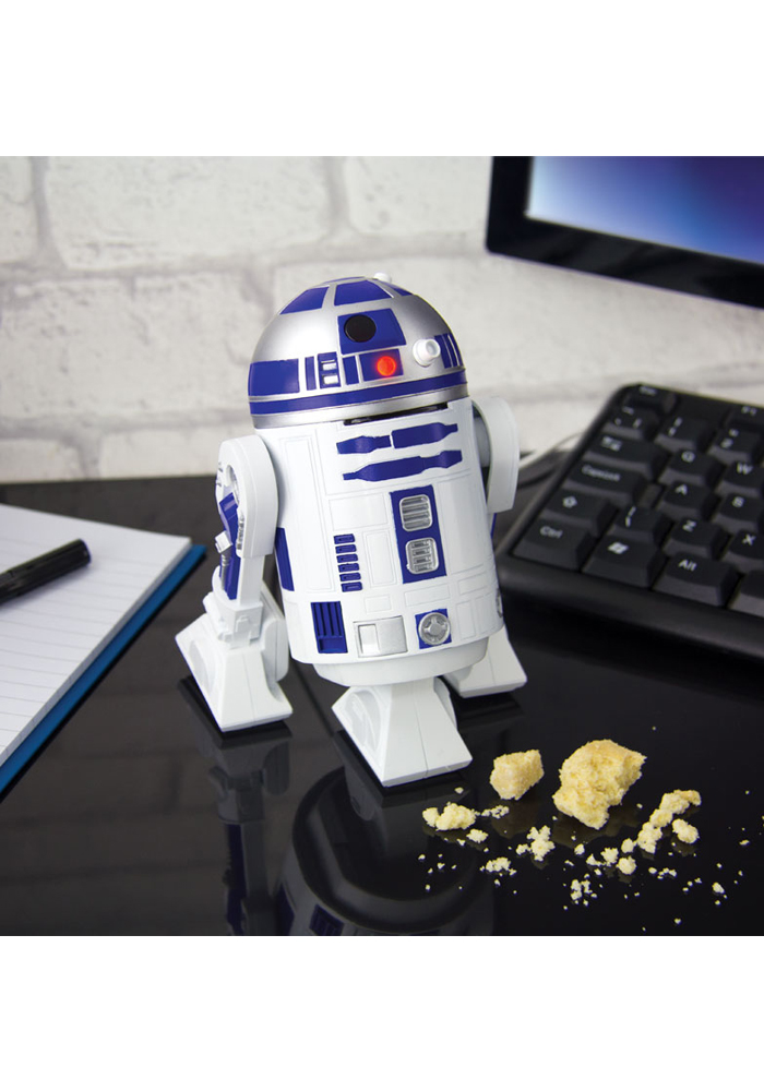 Star Wars - R2D2 - Schreibtisch-Staubsauger