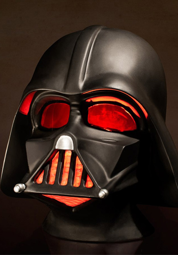 star wars lampe darth vader helm. Black Bedroom Furniture Sets. Home Design Ideas