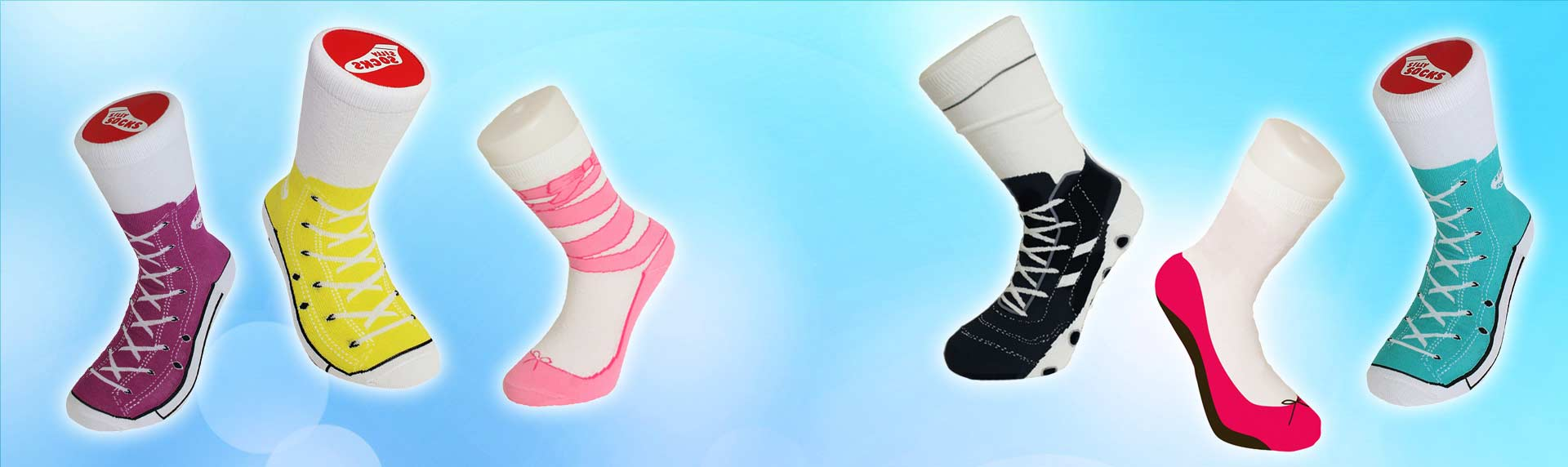 Sneaker Socken-Silly Socks